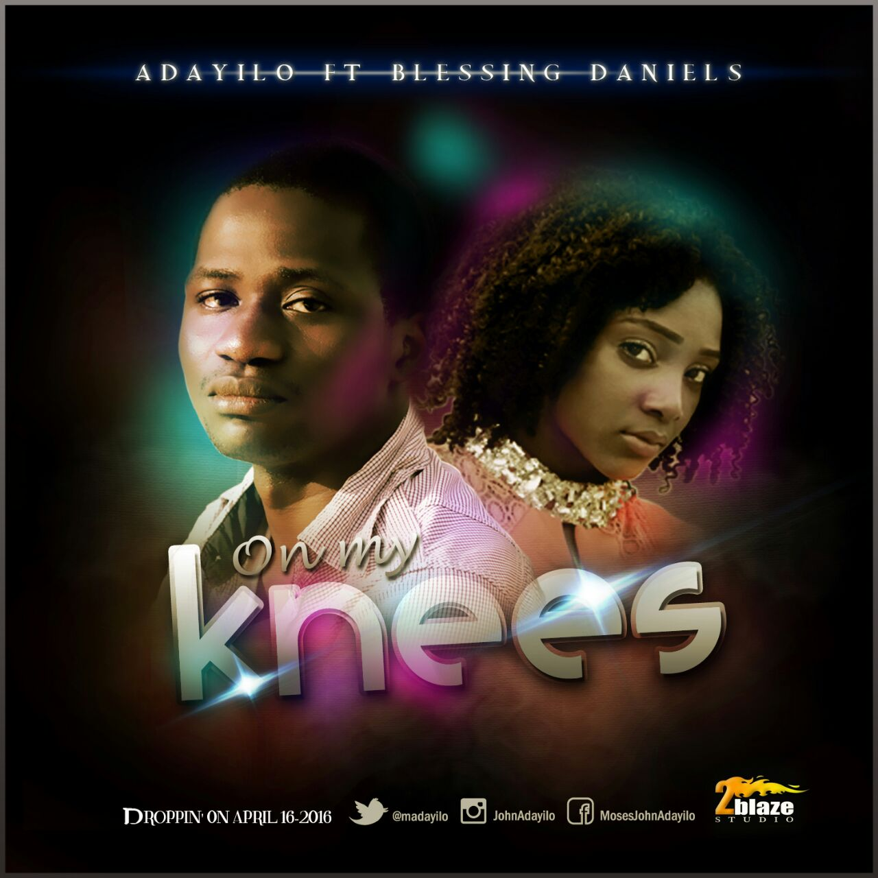 Music: On My Knees Ft. Blessing Daniel ~ Adayilo [@madayilo]