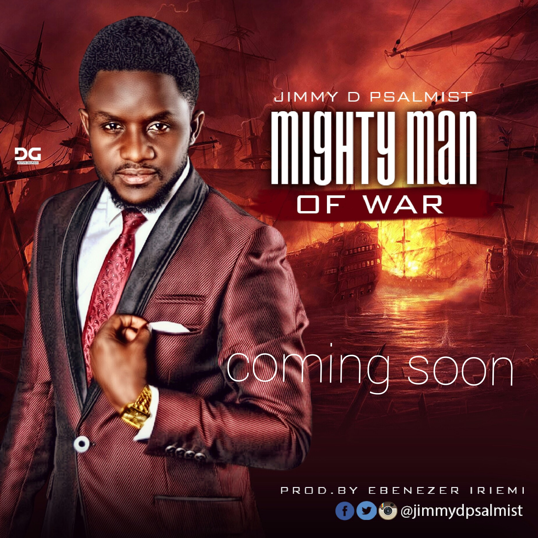 Music: Jimmy D Psalmist Set To Release New Single 'Mighty