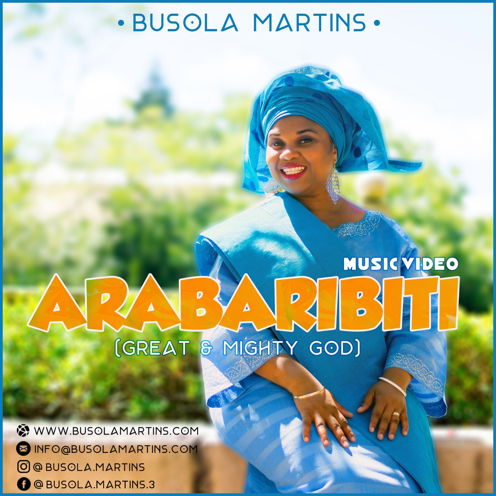 Video: Worship Leader, Busola Martins Premieres 'Arabaribiti' Official Video [@MartinsBusola]