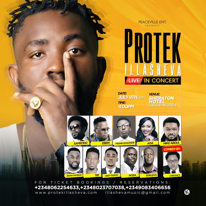 Protek Live In Concert | 9th July 2017 [@Protekniks]