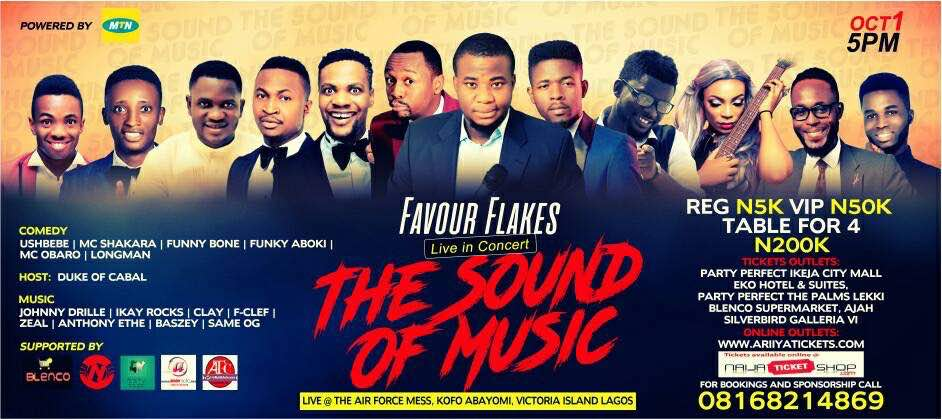 Favour Flakes Hosts FFC 2017 Tagged 'The Sound Of Music'