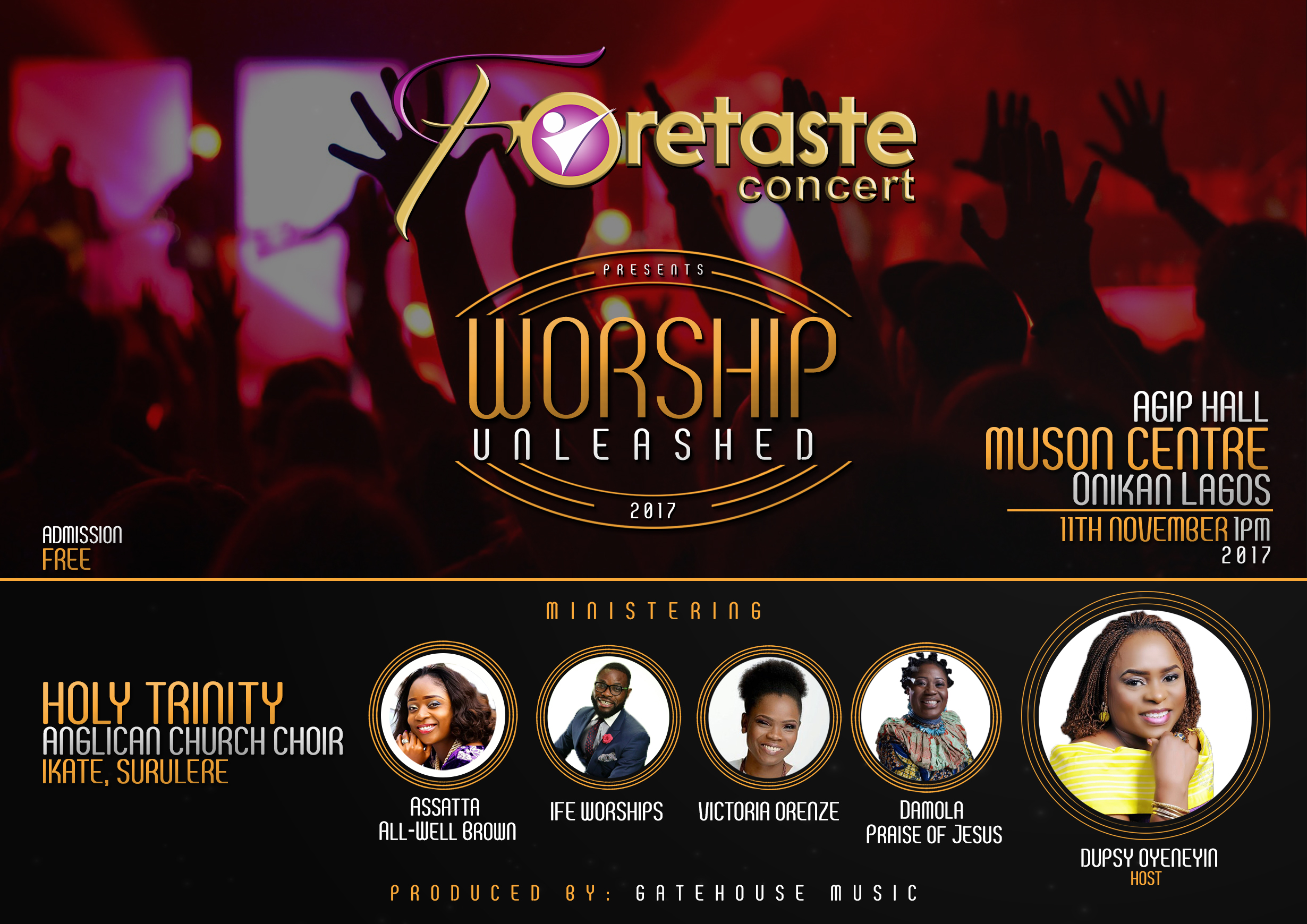 Event: Foretaste Concert Presents
