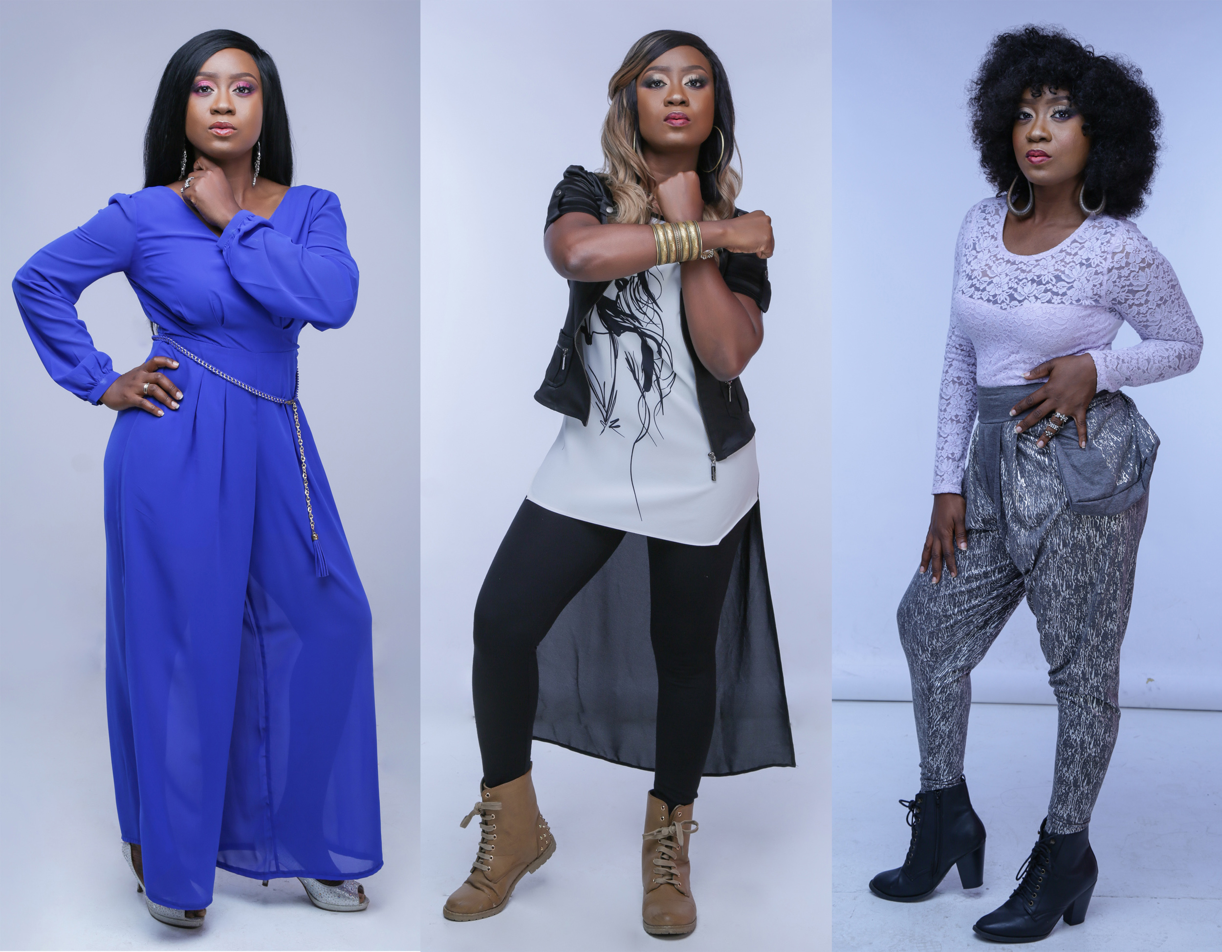 Singer, Nikki Laoye Releases New Stunning Looks In Trio Photoshoot [@NikkiLaoye]