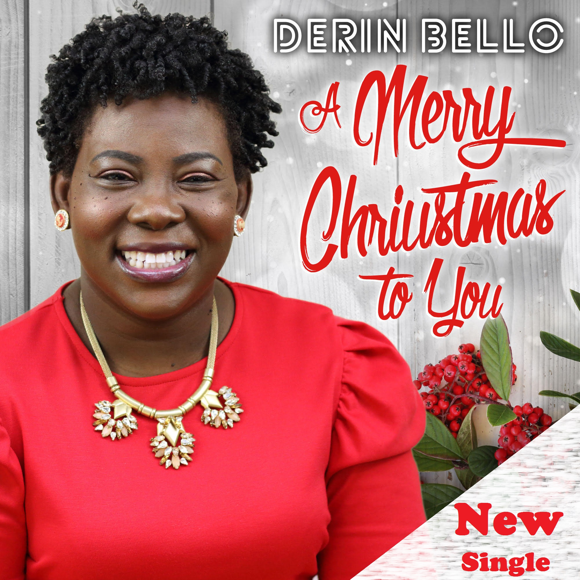 Music: A Merry Christmas To You (Audio/Video) ~ Derin Bello [@DerinBello]