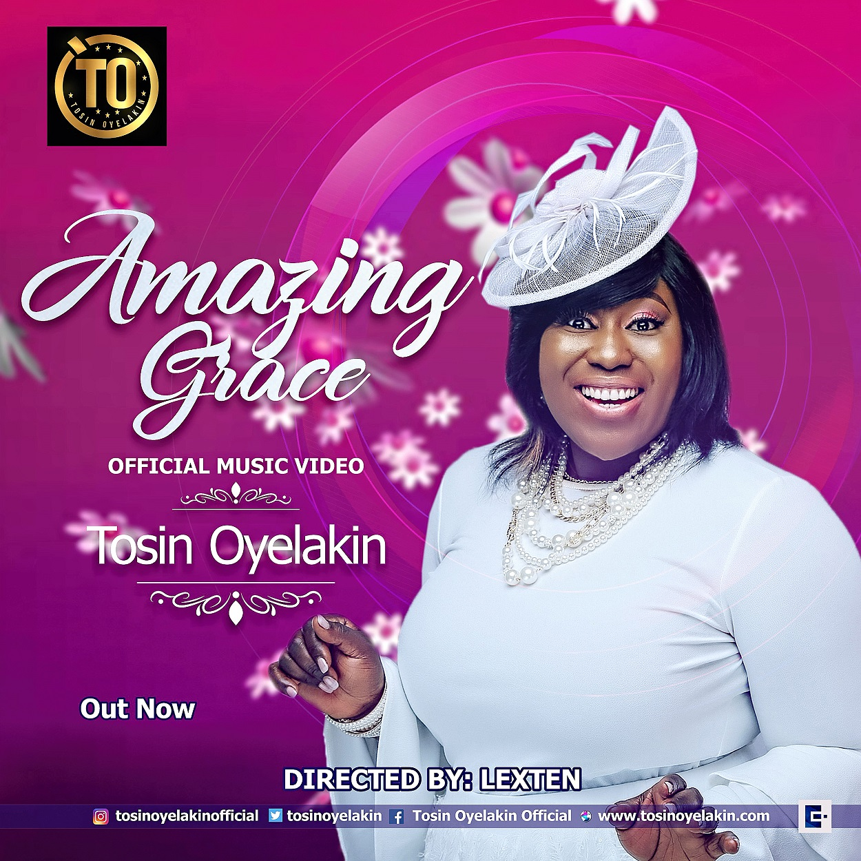 Video: Tosin Oyelakin Premieres Video For Her Single 'Amazing Grace' [@TosinOyelakin]