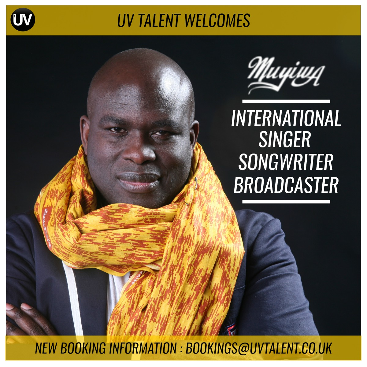 Muyiwa Forms New Partnership With UV Talent Agency [@OfficialMuyiwa]