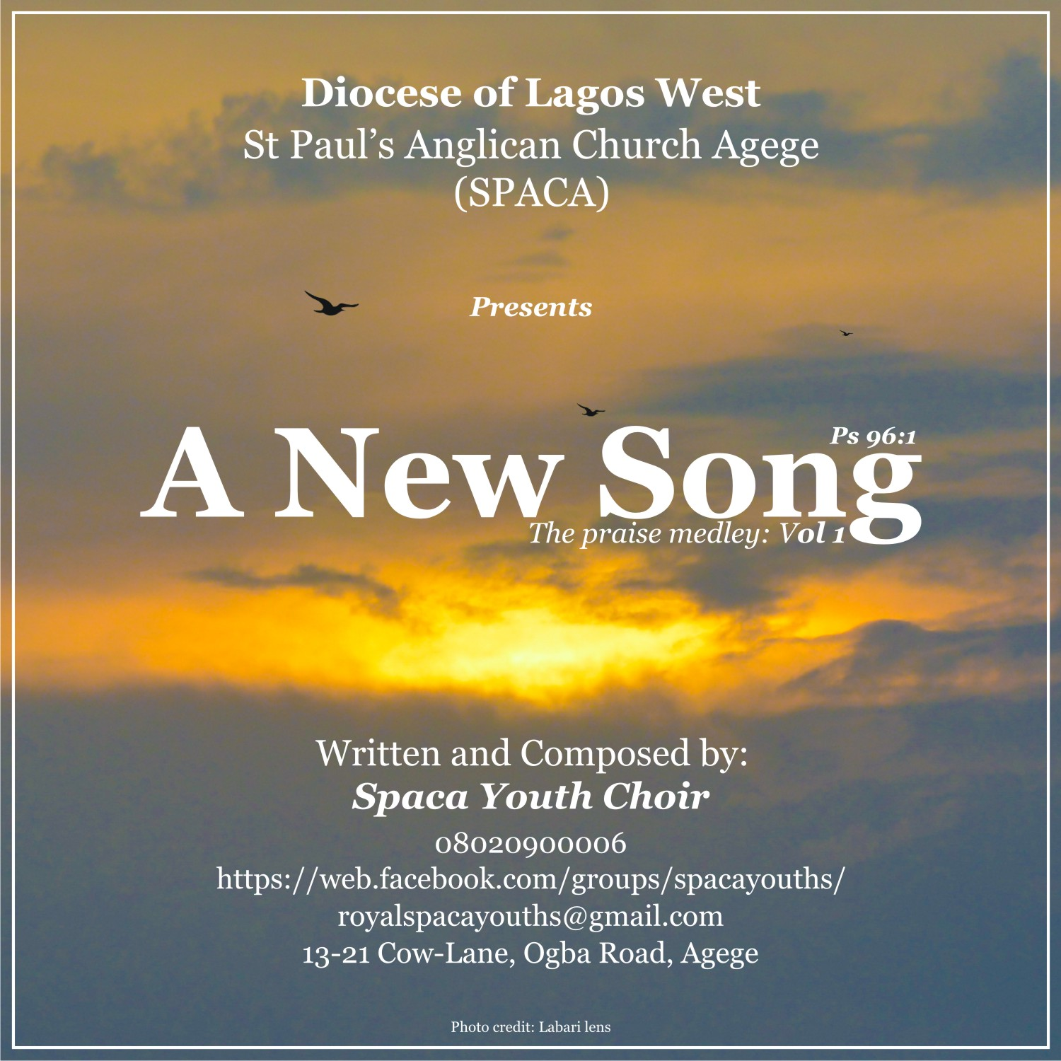 Music: A New Song By SPACA Youth Choir [@SpacaYouths]