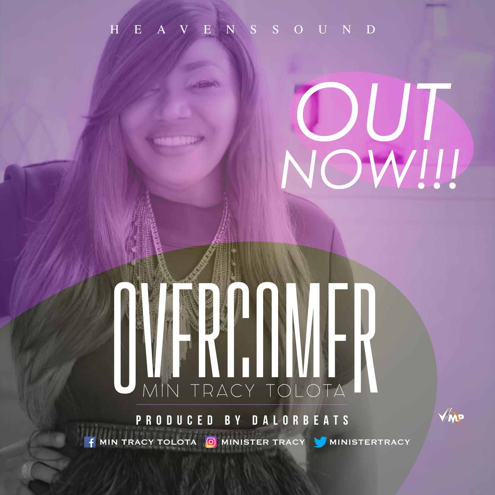 Music: Overcomer ~ Tracy Tolota [@MinisterTracy]