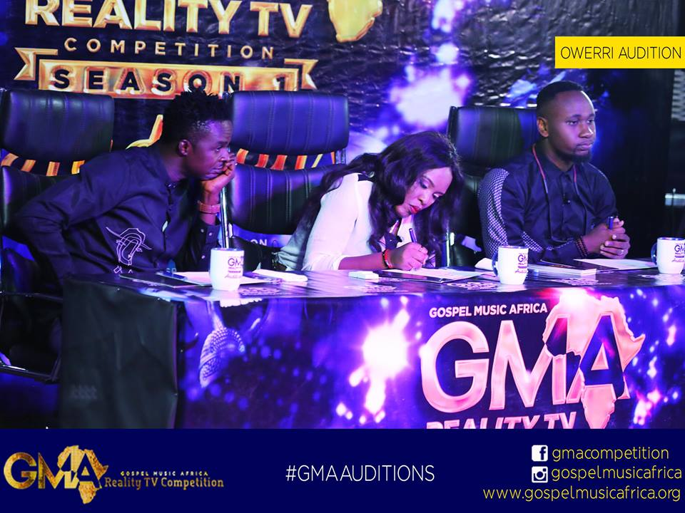 Gospel Music Africa Completes First Stage Nigeria Auditions For The Upcoming Reality TV Show