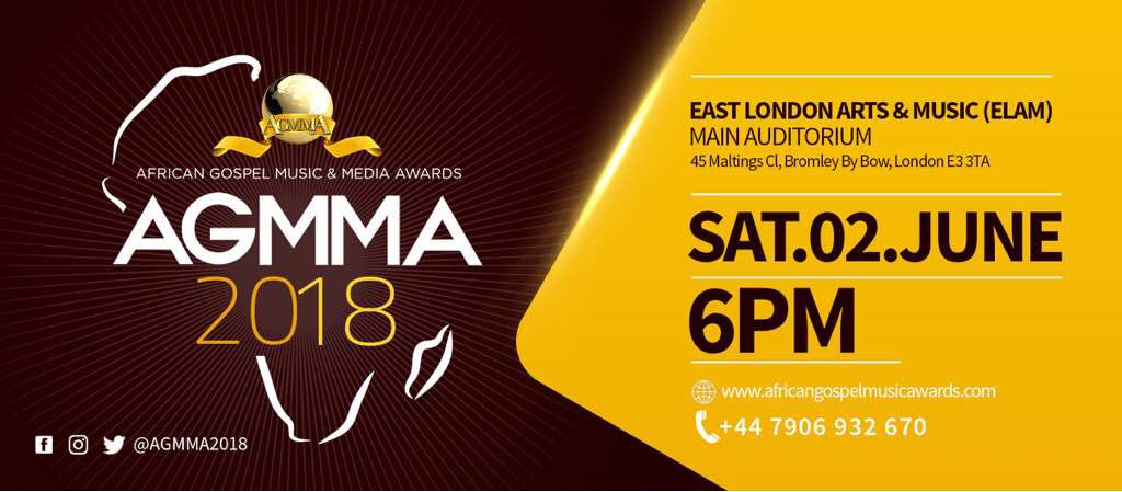 Gospel Artistes Win big at AGMMA 2018 in London