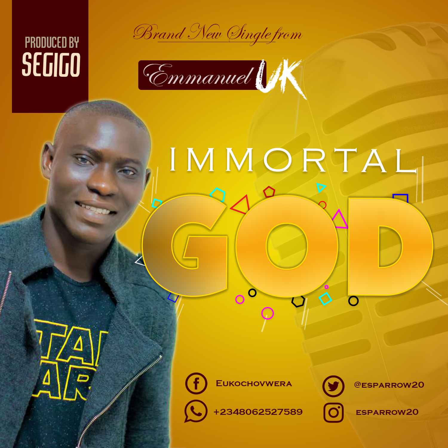 Music: Immortal God ~ Emmanuel UK [@esparrow20]