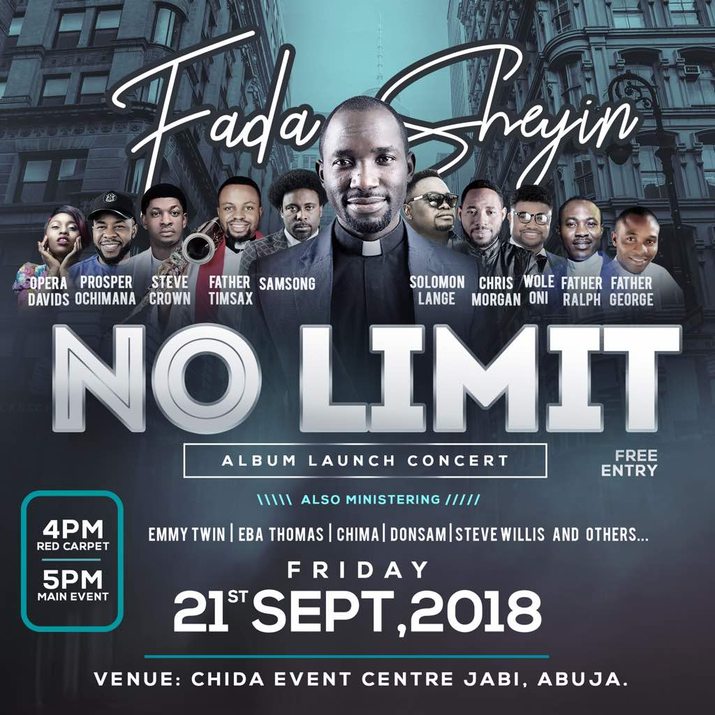 Event: Fada Sheyin Set To Launch New Album