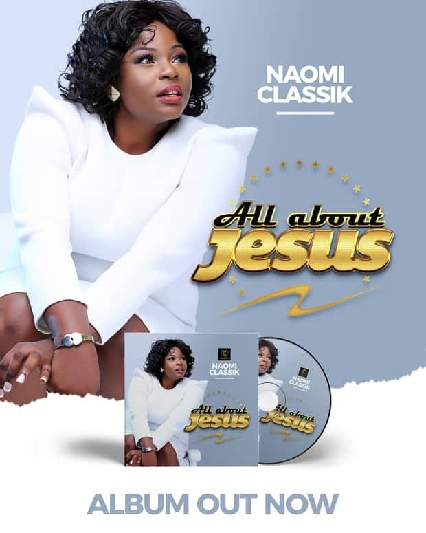Naomi Classik's 'All About Jesus' Album Available Now