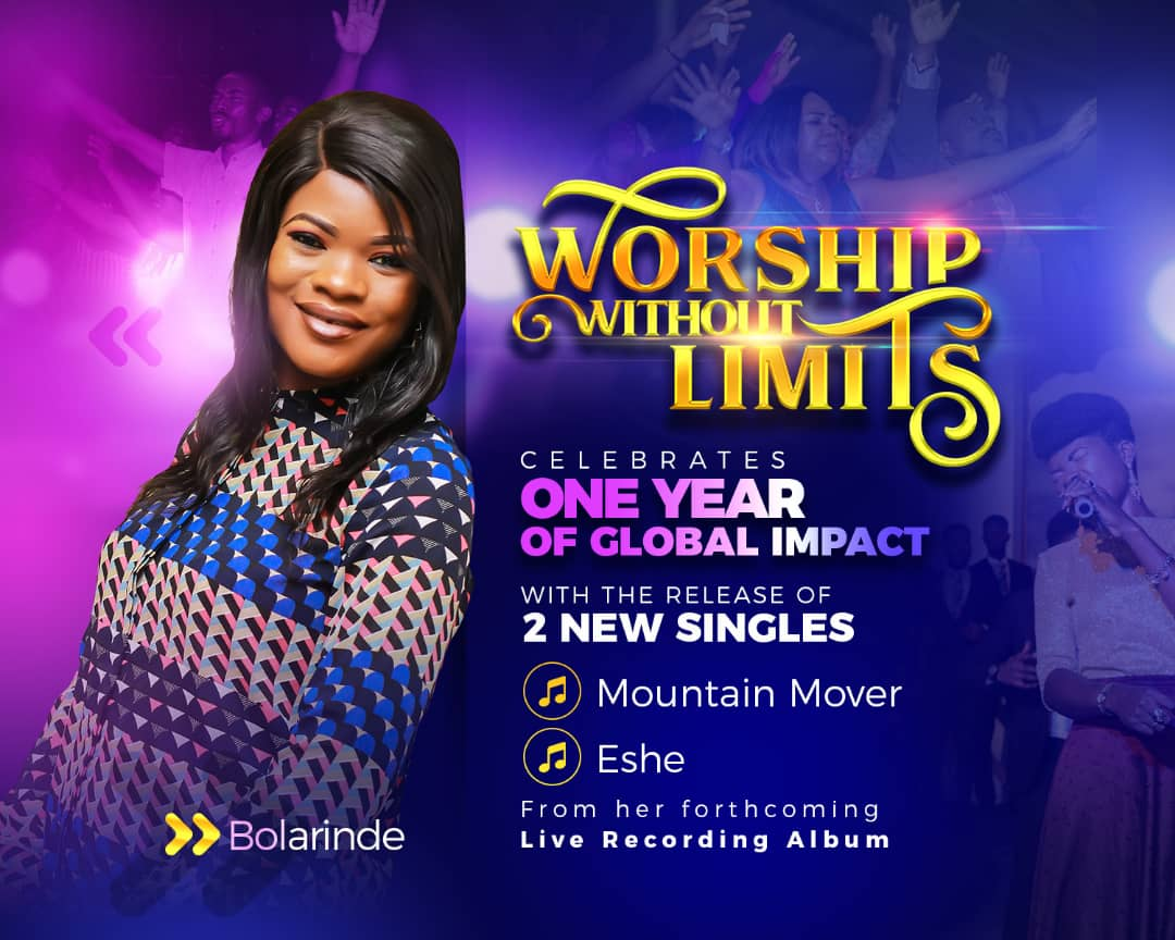 How Worship Without Limits Concerts Birthed Gospel Music Minister Bolarinde's 2 New Singles - Anticipate