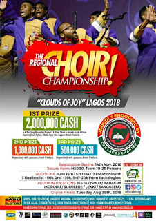 Event: Clouds of Joy Regional Choir Championship