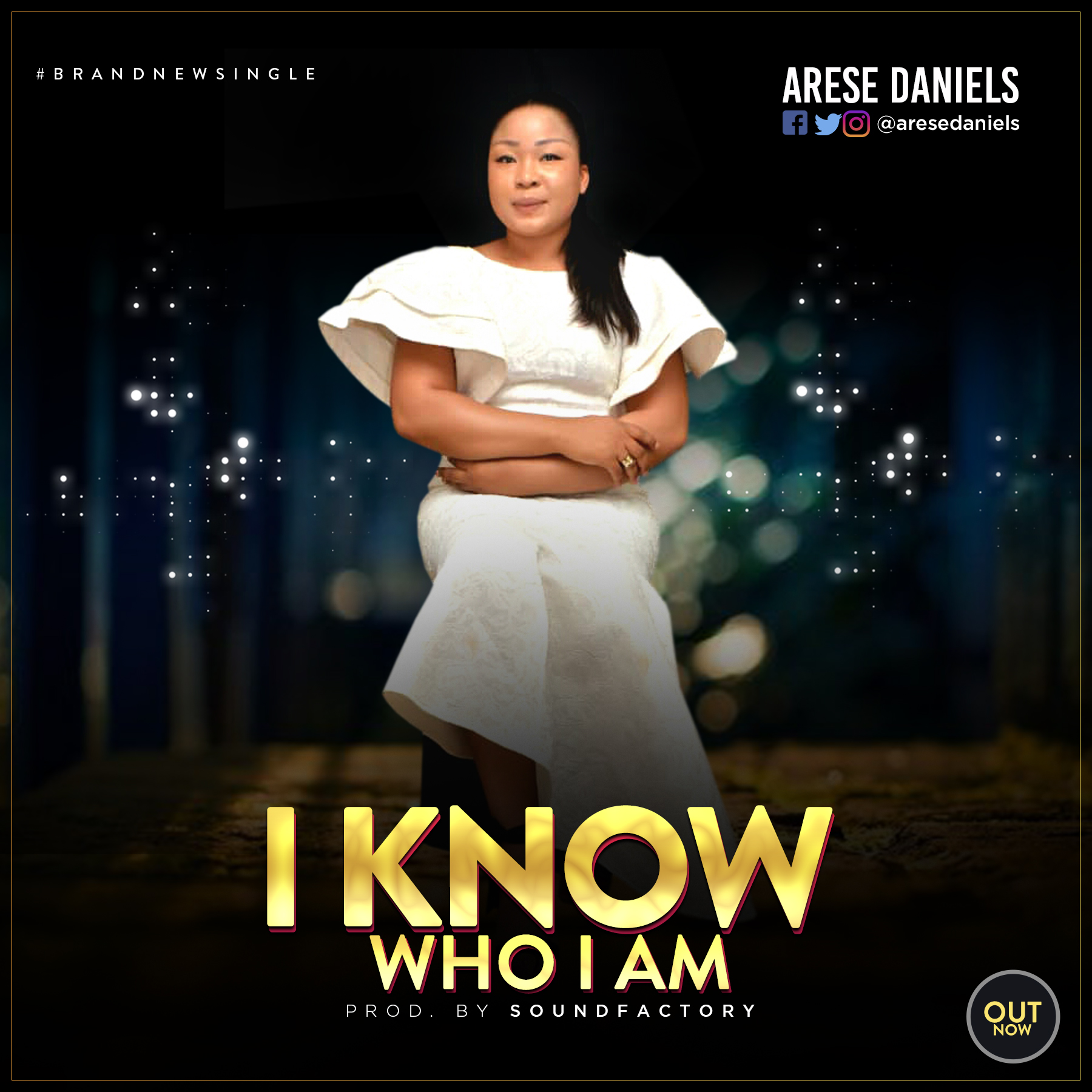 Music: I Know Who I Am ~ Arese Daniels [@AreseDaniels]