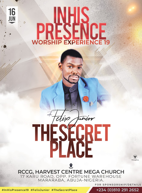 Felix Junior Announces 'In His Presence Worship Experience'